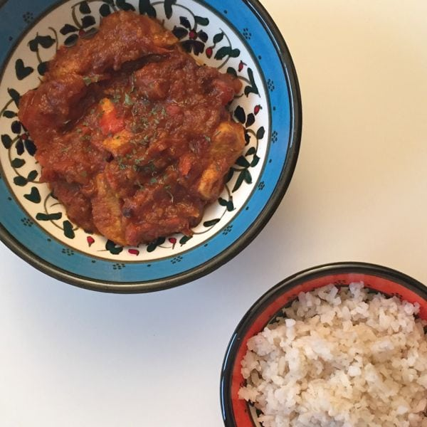 Indian Curry (low FODMAP, Gluten-free, Lactose