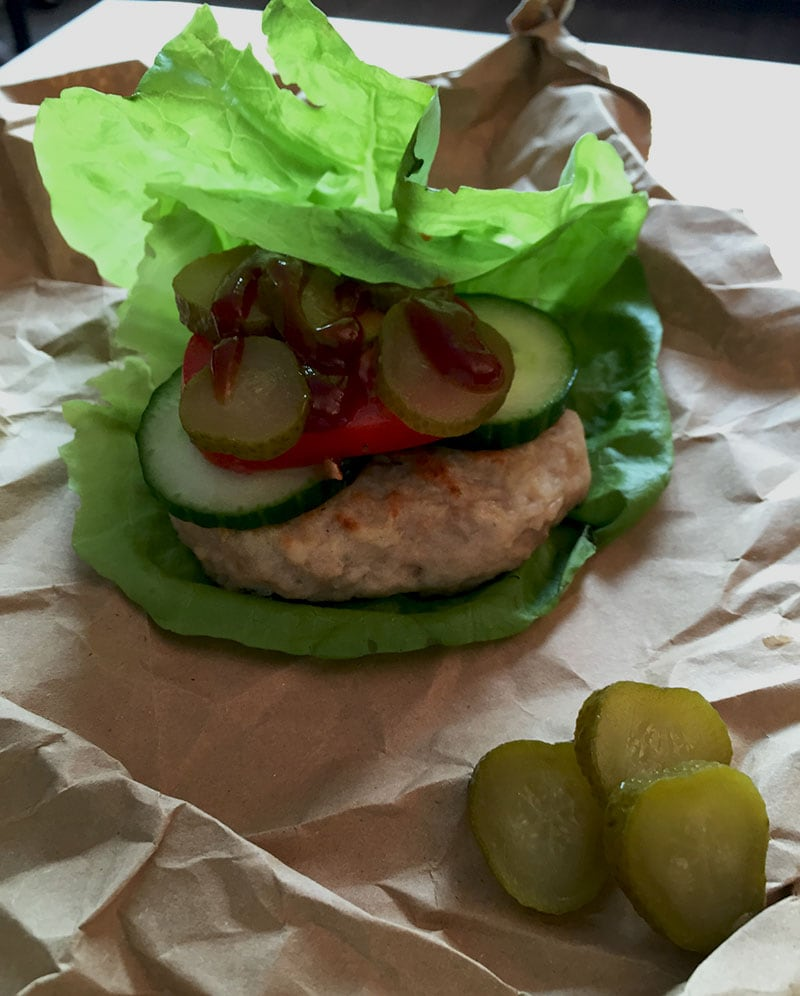 Chicken Burgers (low FODMAP, Gluten-free And Lactose-free