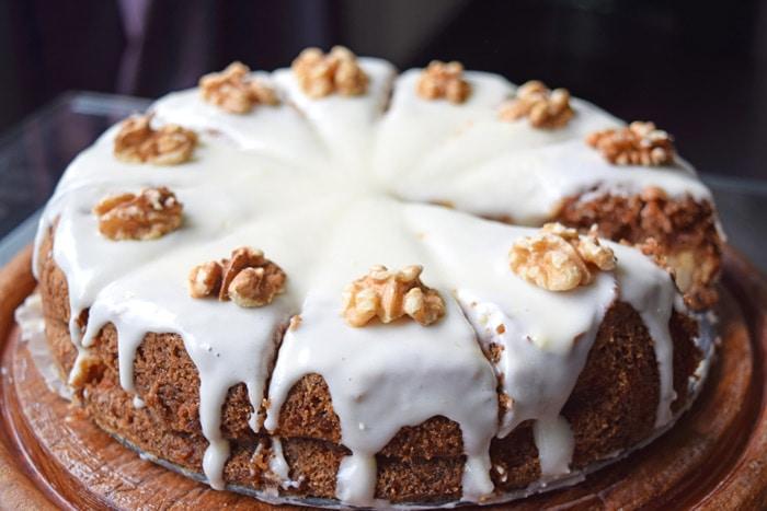 cake uit een springvorm