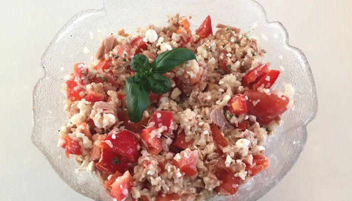 Rijstsalade met tonijn - Karlijnskitchen.com