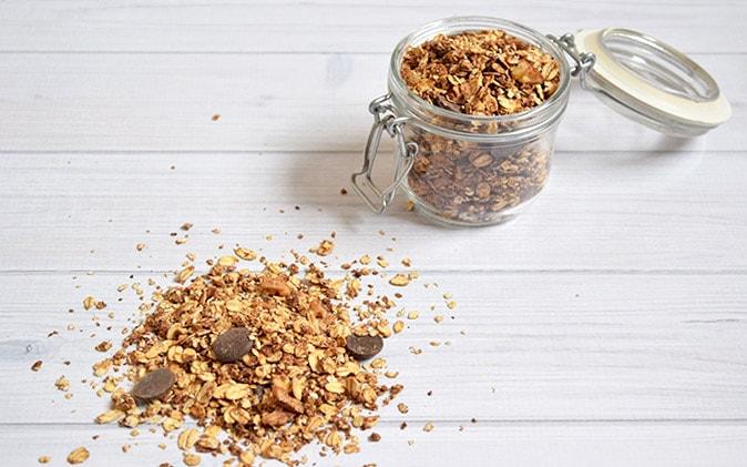 Chocolade Granola - Karlijnskitchen.com