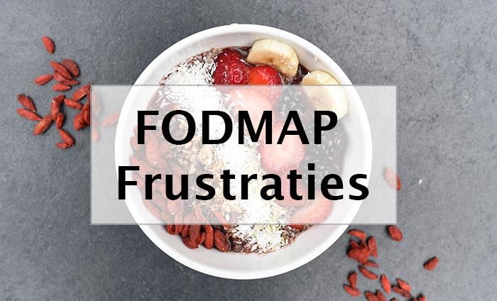 FODMAP frustraties - Karlijnskitchen.com
