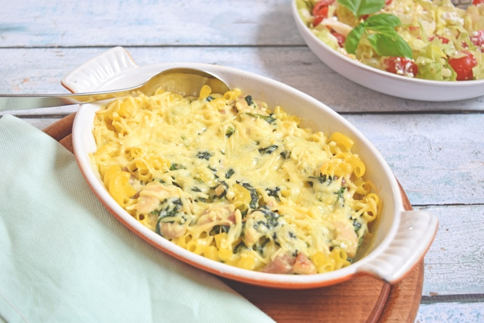 Macaroni ovenschotel met roomsaus - Karlijnskitchen.com