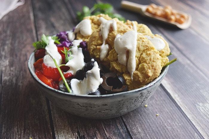 Falafel bowl - Karlijnskitchen.com