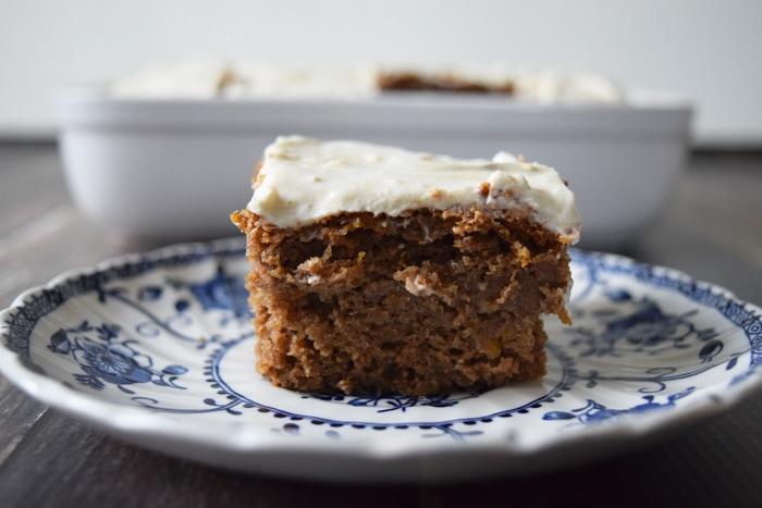 Gezonde pompoencake - Karlijnskitchen.com