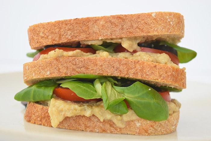 vegan sandwich - karlijnskitchen.com