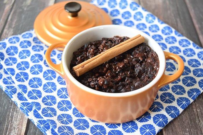 black rice pudding - karlijnskitchen.com