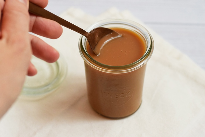 Gezouten karamelsaus - karlijnskitchen.com