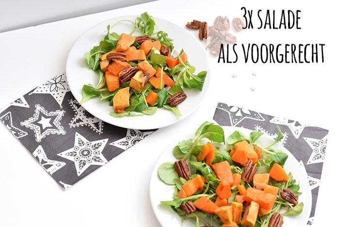 salade als voorgerecht - karlijnskitchen.com