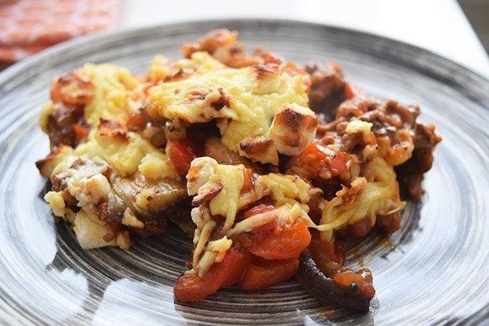 low fodmap aubergine lasagne - karlijnskitchen.com