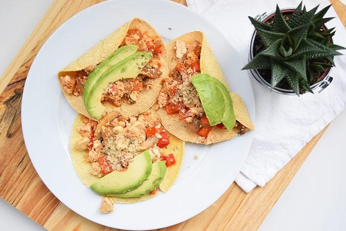 low FODMAP tostadas met tofu - karlijnskitchen.com