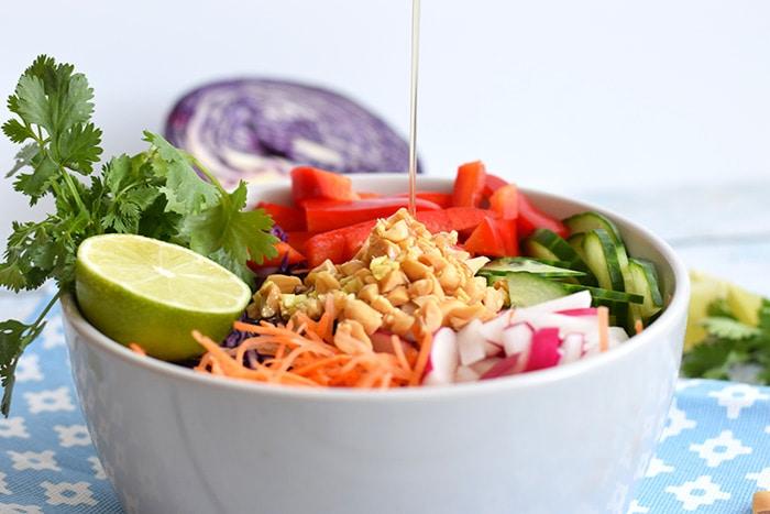 aziatische salade - karlijnskitchen.com