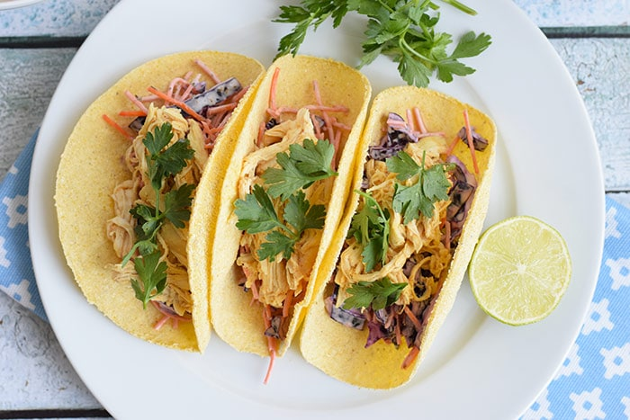 low FODMAP pulled chicken tortilla's - karlijnskitchen.com