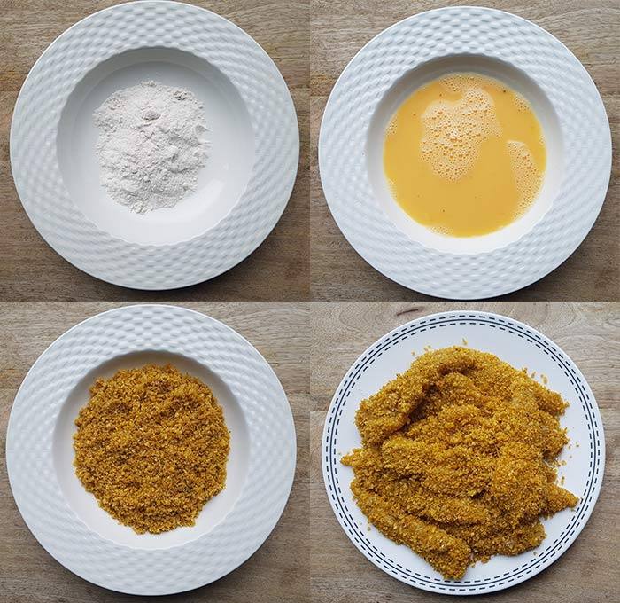 krokante kip met een cornflakes korstje - karlijnskitchen.com
