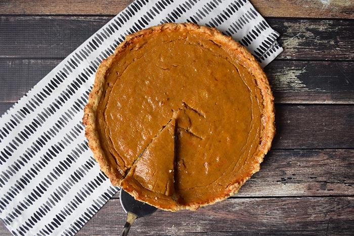low FODMAP pumpkin pie - karlijnskitchen.com