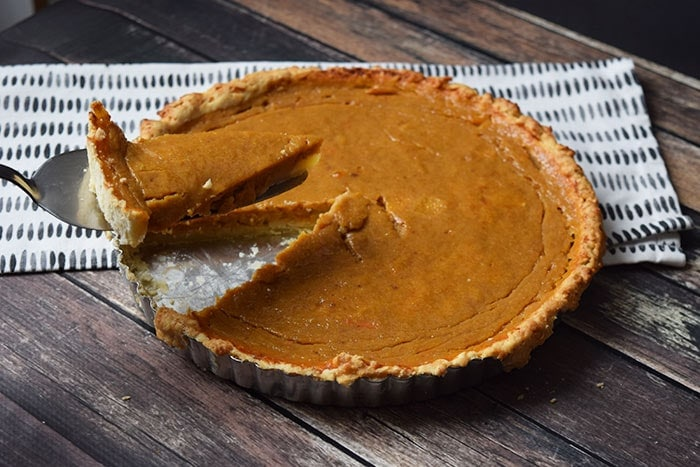 low FODMAP pumpkin pie - karlijnskitchen.com