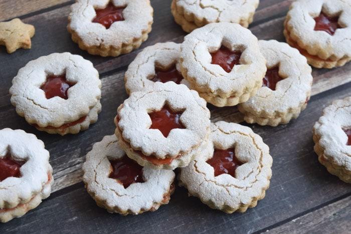 low fodmap linzer koekjes - karlijnskitchen.com